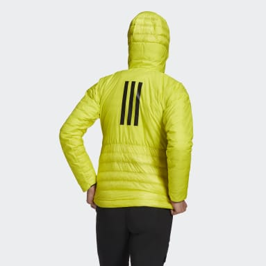 Women TERREX Yellow Terrex MYSHELTER Down Hooded Jacket