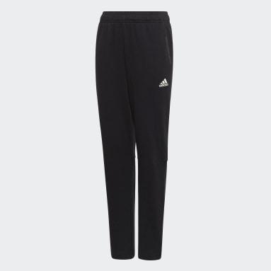 Boys Gym & Training Black Athletics Sport ID Pants