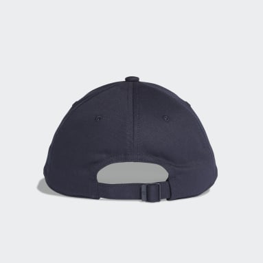 Gym & Training Blue Six-Panel Classic 3-Stripes Cap