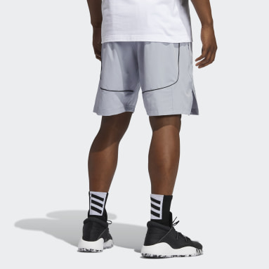Männer Basketball Cross-Up 365 Shorts Grau