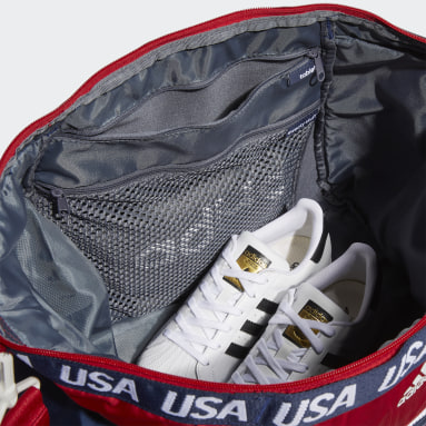 Women's Volleyball Red USA Volleyball Studio 3 Duffel Bag
