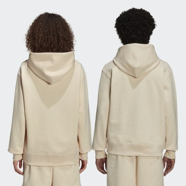 Originals Beige Pharrell Williams Basics Hoodie (Gender Neutral)