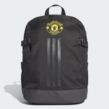 Football Black Manchester United Backpack