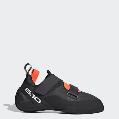 Men Five Ten Grey Five Ten Kirigami Rental Climbing Shoes