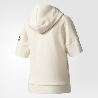 Sudadera adidas Z.N.E. Zero-Dye Blanco Mujer Sportswear