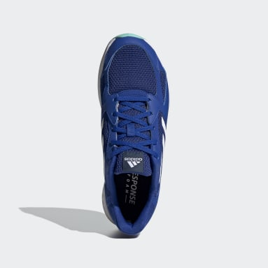 Tênis Response Run Azul Homem Running