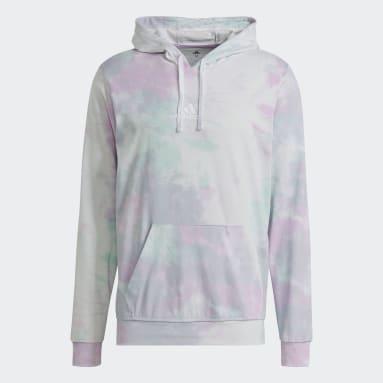 Muži Sportswear tyrkysová Mikina Essentials Tie-Dyed Inspirational