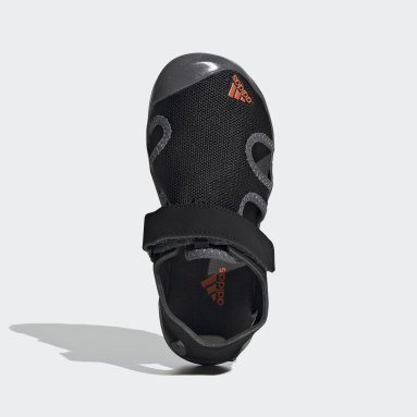 Kids TERREX Black Terrex Captain Toey Sandals