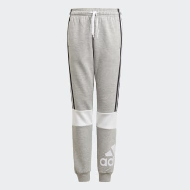 Youth 8-16 Years Sportswear Grey adidas Essentials Colorblock Joggers