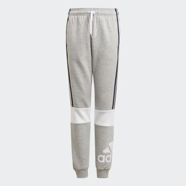 Boys Sportswear Grå adidas Essentials Colourblock bukser