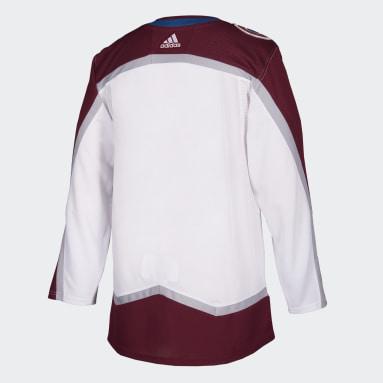 Men Hockey Multi Avalanche Away Authentic Pro Jersey