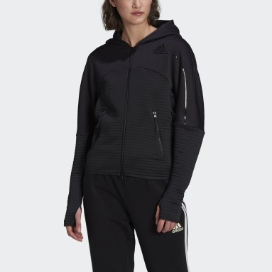 Women Sportswear Black adidas Z.N.E. COLD.RDY Athletics Hoodie
