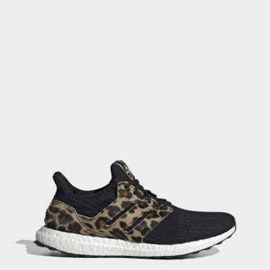 Running Black Ultraboost DNA Leopard Shoes