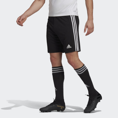 Men Football Black Squadra 21 Shorts