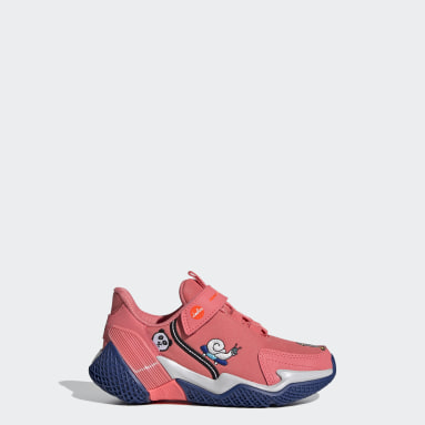 Kids Training Red 4uture Runner Cleofus Shoes