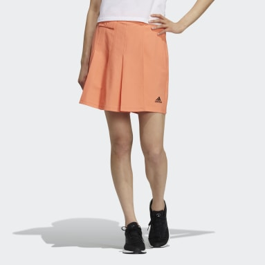 Women Sportswear Orange Tech Woven Shorts