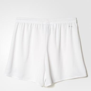 Shorts Parma 16 Blanco Mujer Fútbol