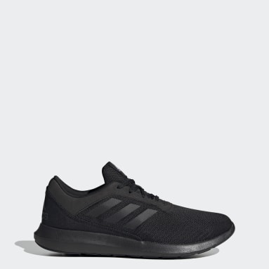 Men Running Black Coreracer Shoes