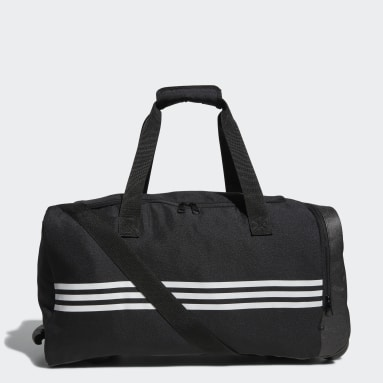 Men Golf Black adidas Team Wheel Bag