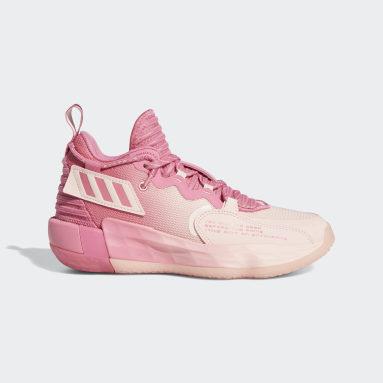 Kids Basketball Pink Dame 7 EXTPLY Shoes
