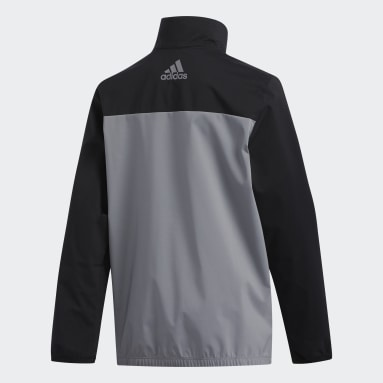 Boys Golf Svart Provisional Jacket