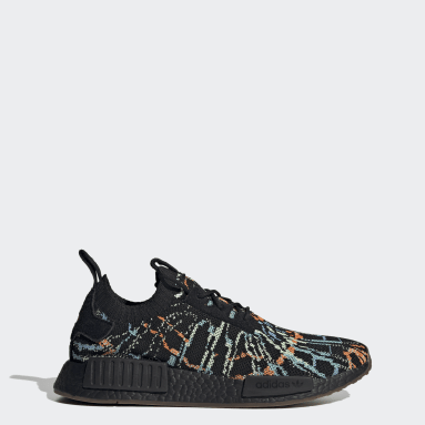Originals Svart NMD_R1 Primeknit Shoes