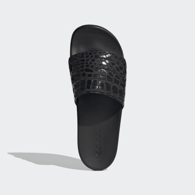 Swimming Black Adilette Comfort Sandals