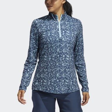 Dames Golf Blauw Primegreen AEROREADY Shirt