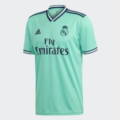 Jersey Tercer Uniforme Real Madrid Verde Hombre Fútbol