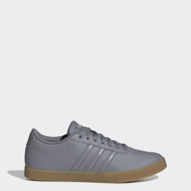 Women Sport Inspired Grey Courtset Shoes