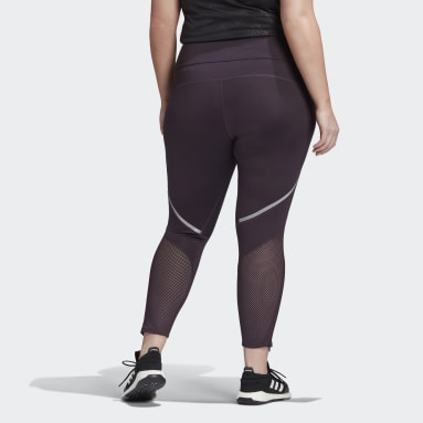 Kvinder Løb Lilla How We Do Plus Size lange tights