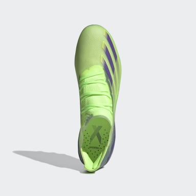 Chaussure X Ghosted.1 Terrain synthétique Vert Femmes Football