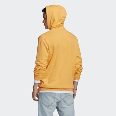Männer Originals LOUNGEWEAR Trefoil Essentials Hoodie Orange