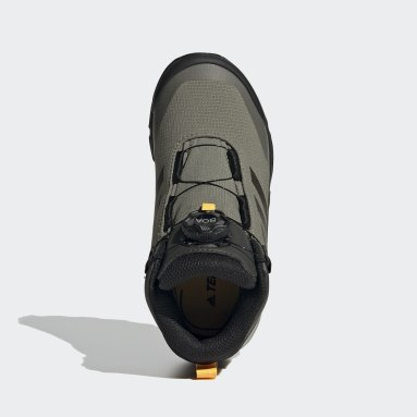 Chaussure de randonnée Terrex Winter Mid Boa Vert Enfants TERREX