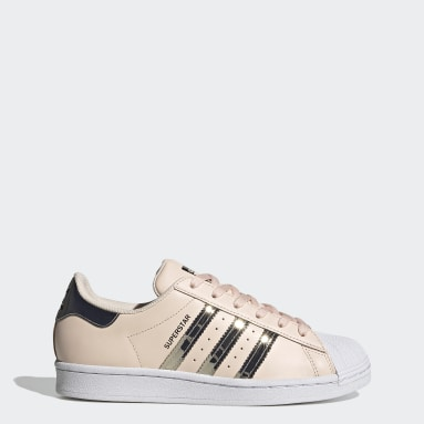 Women's Originals Pink Superstar Shoes