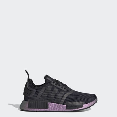 Kids Originals Black NMD_R1 Shoes
