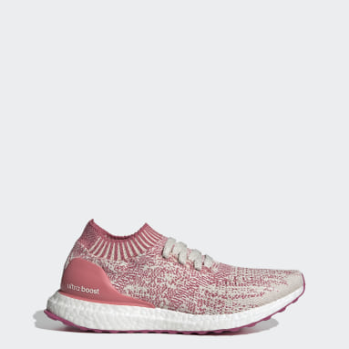 Sapatos Ultraboost Uncaged Rosa Mulher Running