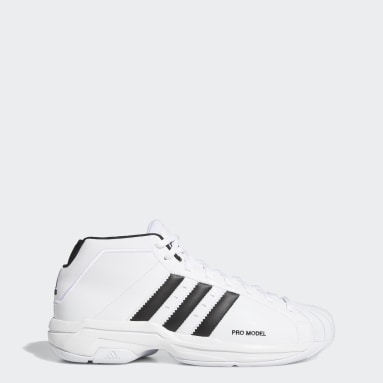 Basketball White Pro Model 2G Shoes