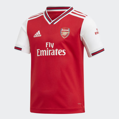 Kids 4-8 Years Football Red Arsenal Home Mini Kit