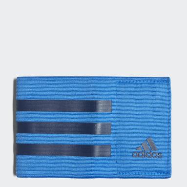 Football Blue Football Captain's Armband