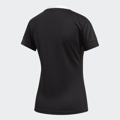 Camiseta Uniforme Titular All Blacks Negro Mujer Rugby