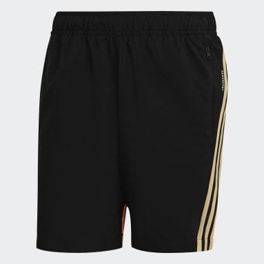 Men Sportswear Black adidas Sportswear Woven 3-Stripes Shorts