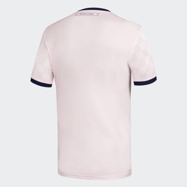 Camiseta Visitante Club Universidad de Chile 20/21 Rosado Niño Fútbol