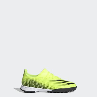Botas de Futebol X Ghosted.3 – Piso sintético Amarelo Rapazes Futebol