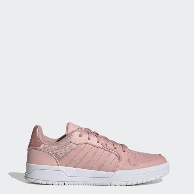 Tenis Entrap Rosa Mujer Essentials