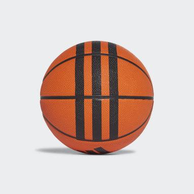 Basket Orange 3-Stripes Minibasketboll
