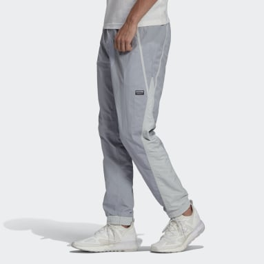 Men Originals Grey R.Y.V. V-Line Woven Track Pants