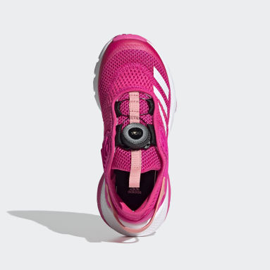 Girls Gym & Training Pink ActiveFlex Boa Shoes