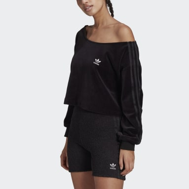 Sweat-shirt LOUNGEWEAR noir Femmes Originals