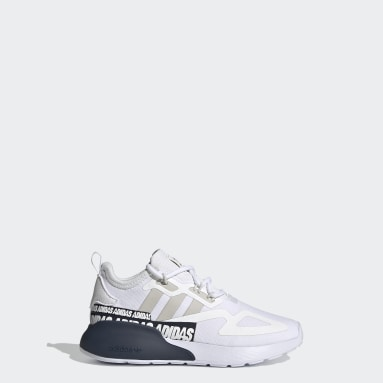 Children Originals White ZX 2K Shoes